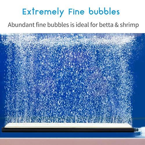 Pawfly 8 Inch Air Stone Bar Micro Bubble Diffuser for Aquarium Fish Tank Hydroponics Pump