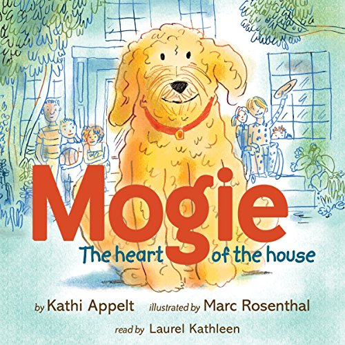 Mogie audiobook cover art