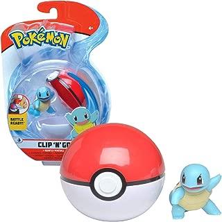 Bandai - Pokémon - Poké Ball & sa figurine 5 cm Carapuce - WT97642