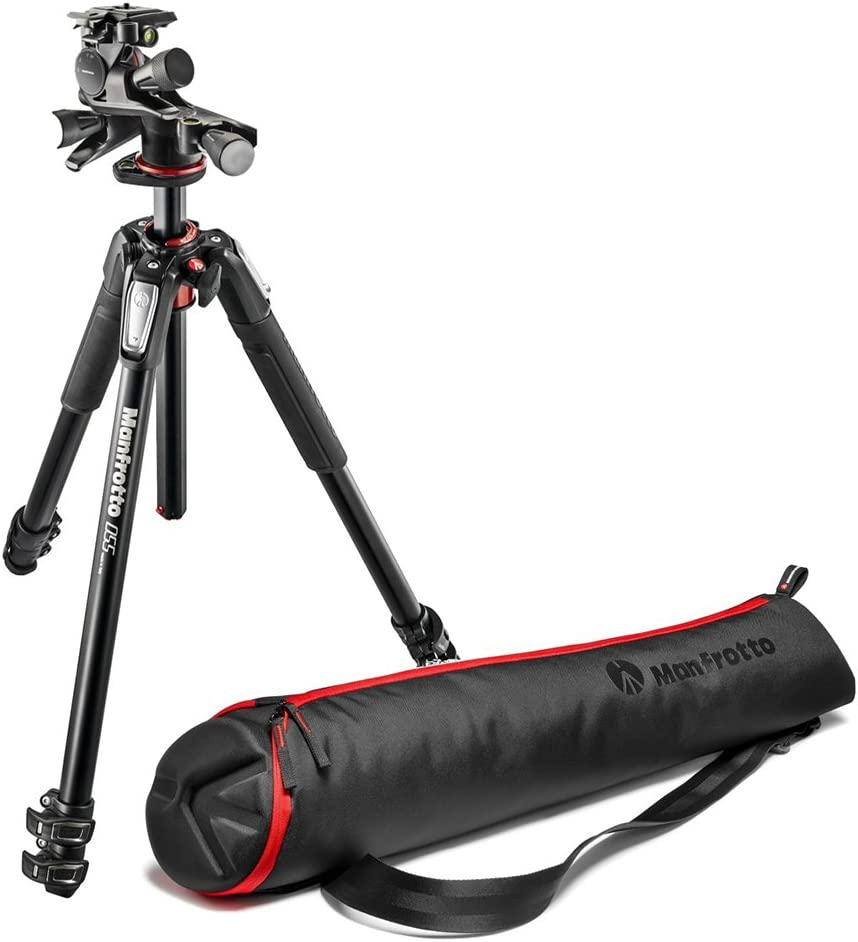 Manfrotto 055 Aluminium Stativ Mit Xpro Kamera