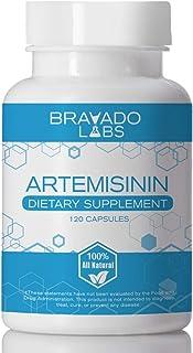Premium Artemisinin 100mg - Rapid Enhanced Absorption - Sweet Wormwood Extract - Sweet Annie Herb - Artemisia - 120 Gluten...