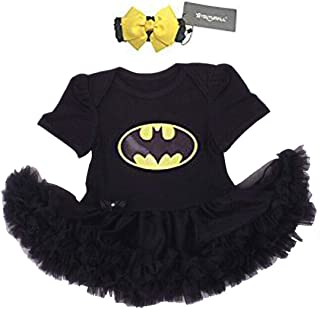 Baby Party Dress Infant Baby Cool Costume Newborn Girls Party Dress Cosplay (M:3-6 months)