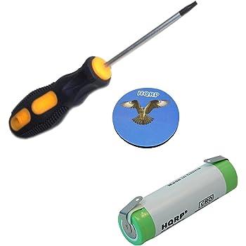 HQRP Batería Recargable para Philips Norelco T3000 / T6000 / T7000 ...
