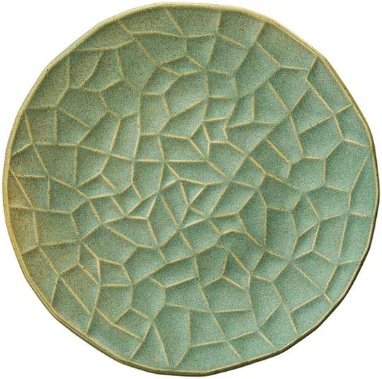 Assiette creuse en céramique de 8 pouces - 3 pièces peut être utilisée sur un micro-ondes lave-vaisselle désinfection (Taille   8 inches3)