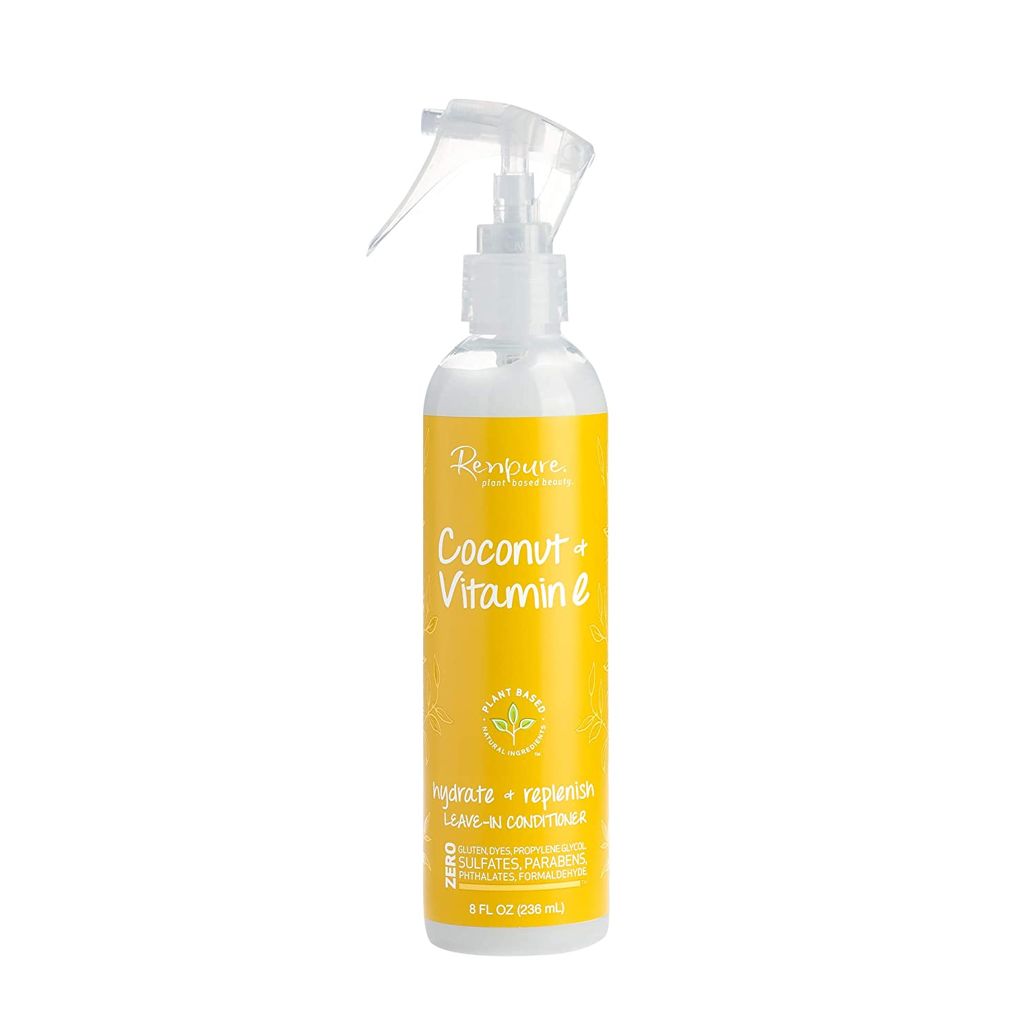 RENPURE Plant Based Natural Louisville-Jefferson County Mall Leave Hydrati Award-winning store Spray In Conditioner -