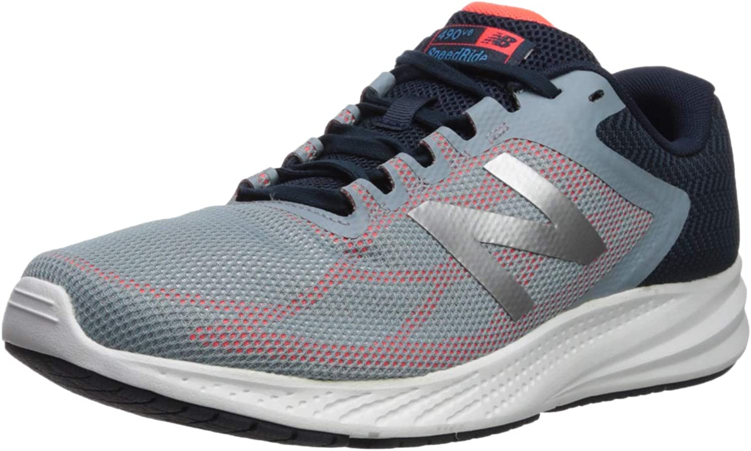 New BalanceNB18-M490V6-Mens - 490v6 Cushioning Herren, Grau (grau), 40 EU M