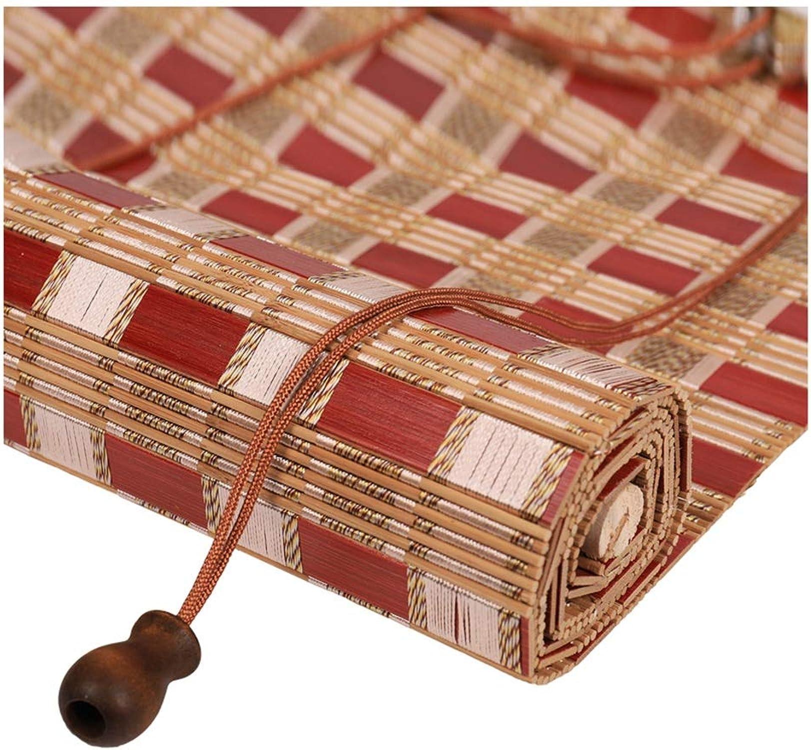 a la venta ZEMIN Bambú Rodillo Ciego Ciego Ciego Ventana A Prueba De Viento Mantener Caliente Sombra Cortina Enrollar, 3 Colors, Multi-tamao Personalizado (Color   B, Tamao   50×150cm)  comprar descuentos