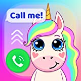 Chat en vivo y videollamadas en vivo. Muchos contactos unicornio. Puedes usar una nueva colección de pegatinas para escribir mensajes a tu personaje favorito. Es una aplicación gratuita y fácil de usar. Diseño fresco y amigable. Posibilidad de compar...