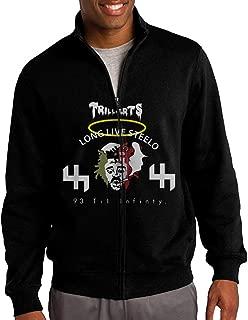 NHJH Men's Capital Steez Pro Era Full Zip Hoodies Jacket Black
