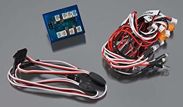 Power 4-Channel LED Lighting System for Custom 1//14 Semi-Tractor Truck G.T