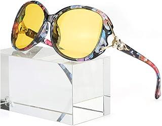Classic Oversized Sunglasses for Women Polarized 100%...