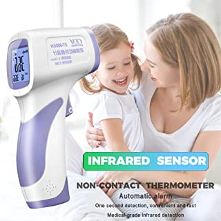 Multifuntional Infrared Forehead, Thermometer best baby thermometer LCD Digital Termometro Non-contact Body Temperature Measure Device 2020 Color Alarm