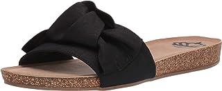Fergalicious Women's Moshi Sandal, Black, 5.5 M M US