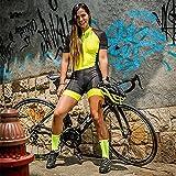 Abito da donna Triathlon, Jersey per biciclette da donna, body da ciclismo triathlon professionale da donna (Color : K20107, Size : Medium)