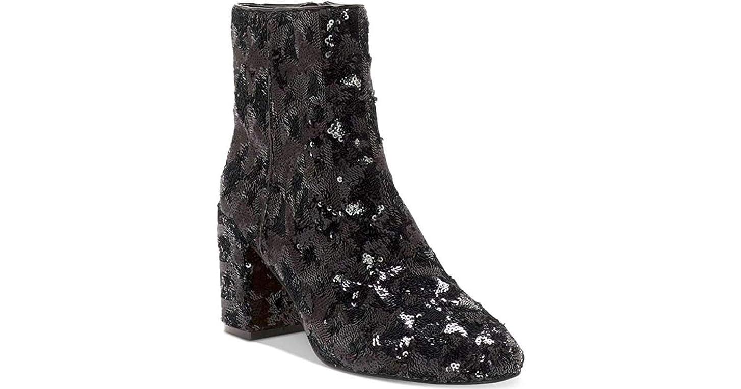 ブロッサムシプリー飾る[INC International Concepts] Womens Georgiee Closed Toe Ankle Fashion Boots [並行輸入品]