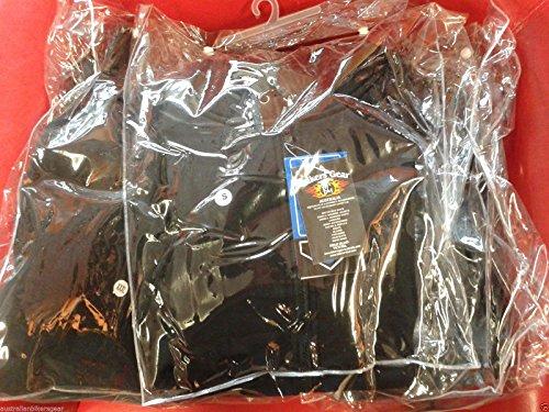 Damen Motorradjacke mit Kapuze – Komplett gefüttert – DuPont Kevlar Aramidfasern – CE-Protektoren – Schwarz – 46 (Herstellergröße:18) - 5