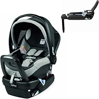 Peg Perego Primo Viaggio Nido Car Seat with Load Leg Base, Ice