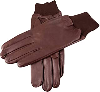 Dents Mens Royale Right Hand Leather Shooting Gloves - Brown
