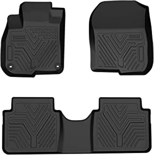 Maxiii Floor Mats Heavy Duty Rubber Car Floor Mats All Weather Protection Custom Floor Liners Compatible for 2017-2019 Honda CR-V 1st 2nd Row