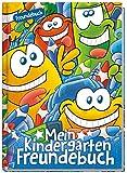 Kindergarten Freundebuch für Jungs und Mädchen | A5 Poesiealbum, Freundschaftsbuch zum Ausfüllen und Ausmalen