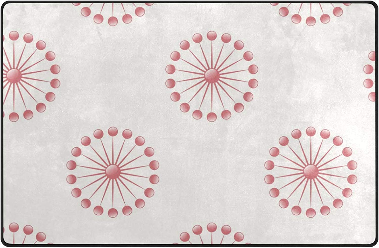 FAJRO White Dots Red Holiday Background Polyester Entry Way Doormat Floor Mats Area Rug Multipattern Door Mat shoes Scraper Home Dec Anti-Slip Indoor Outdoor