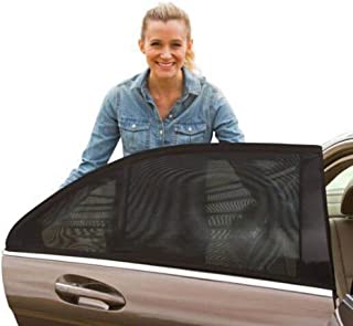 2Pack TSH Parasol de Coche Ventana Lateral Trasera,M/áxima Protecci/ón contra Rayos UVA Protects Baby Kids And Pets,Premium Quality Car Sun Shades Universal
