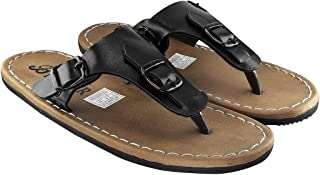 Blinder Black Brown Tan Slip-On Sandals for Men on Amazon.in