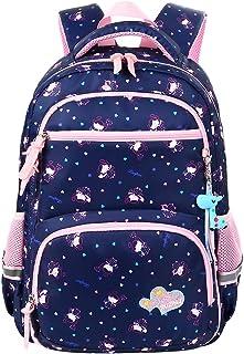 VBG VBIGER Unisex School Backpack Cute Book Bag for Girls Boys Large and Lightweight Daypack (Royal Blue K)