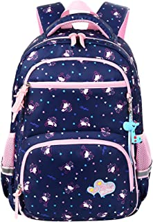 Vbiger School Backpack for Girls Boys for Middle School Cute Bookbag Outdoor Daypack