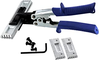 MIDWEST Seamer Set - 3 & 6 Inch Straight Sheet Metal Bender Set with Forged Blades & KUSH'N-POWER Comfort Grip Handle - MWT-S36