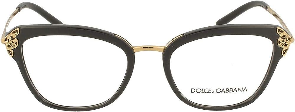 Dolce & gabbana,montatura per occhiali da vista per donna FILIGREE & PEARLS DG 5052