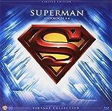 Superman I-Iv Colección Vintage (Funda Vinilo) Blu-Ray [Blu-ray]