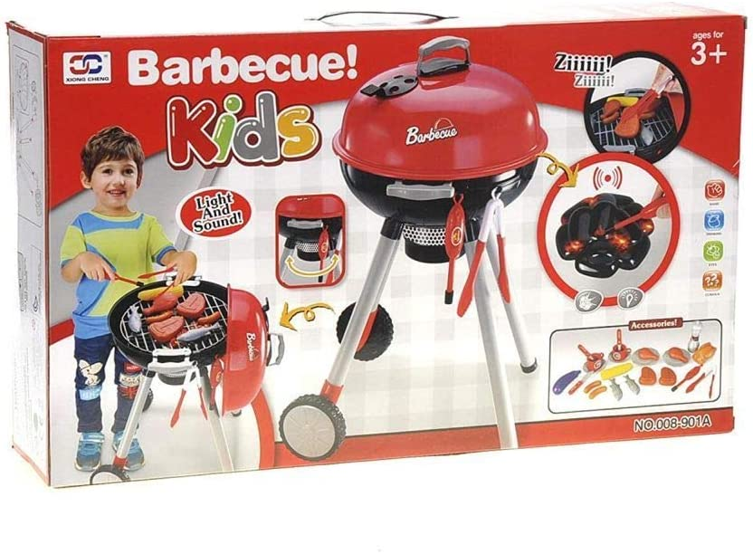 TODDLER TOYS Kids Size Outdoor Barbecue cheap with Pla and Seattle Mall Sound Grill