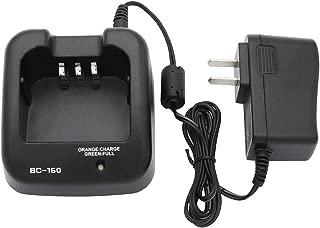 Karier BP-232 BP-231 BP-230 Li-ion Battery Rapid Charger Compatible for ICOM BP232H IC-A14 IC-F15 IC-F3011 IC-F4011 IC-F3161 F14 F24 F3011 F4011 F3021 F4021 F33GT F3161 F4161