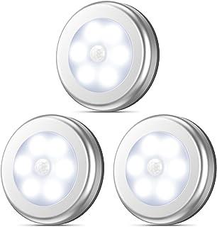 AMIR Motion Sensor Light, Stick-Anywhere Cordless Battery-Powered LED Night Light, Closet Lights,Stair Lights, Safe Lights
