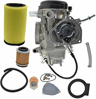 Bruin 350 Parts Carburetor Oil/Air Filer for Yamaha GRIZZLY 350 YFM 350 YFM350 2004 2005 2006 2007 2008 2009 2010 2011 2x4 4x4 Carb NEW
