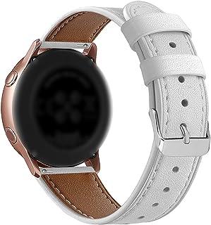20mm/22mm mujeres del cuero genuino correa de reemplazo elegante Pin de cierre de la correa de reloj de cuarzo analógico r...