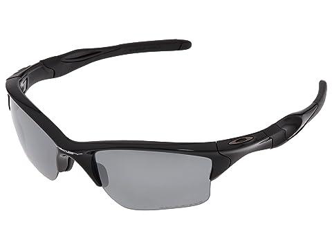 Oakley Half Jacket 2.0 XL Polarized Polished Black w/Black Iridium Polarized Running Sunglasses 8016463