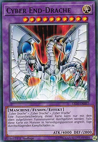 Konami - LED3-DE017 - Cyber End-Drache - Common - DE - Yugioh