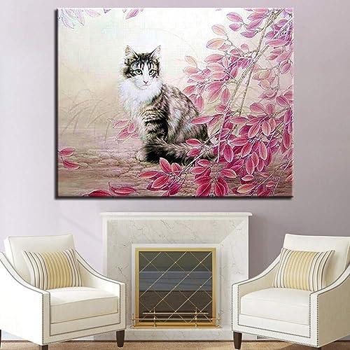 de moda Yangll Pintura Al óleo Digital por por por Números Kits De Bricolaje Dibujo para Colorar Animal Paisaje En Lienzo Decoración del Hogar Arte De La Parojo Imágenes Abstractas, 60X75Cm No Frame  Sin impuestos