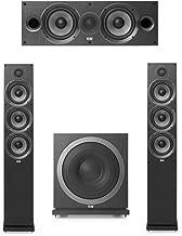 Elac Debut 2.0-3.1 System with 2 F6.2 Floorstanding Speakers, 1 C6.2 Center Speaker, 1 Elac Sub3010 Subwoofer