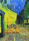 Xofjje Pintar por Numeros Adultos Niños Principiantes_Café con terraza_Juegos de Kits de Pintar por Números_para Decoración del Hogar Viene con Pinturas y Pincel_30x40cm_Sin Marco