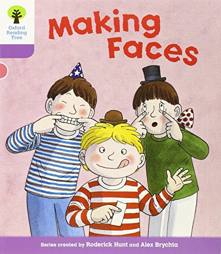 Oxford Reading Tree: Level 1+: More Patterned Stories: Making Facesの詳細を見る