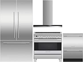 Fisher Paykel 5 Piece Kitchen Appliance Package with 36