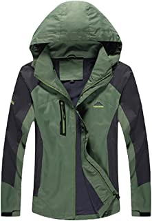 Lottaway Men's Lightweight Outdoor Hiking Climbing Rush Guard Shell Jacket Coat
