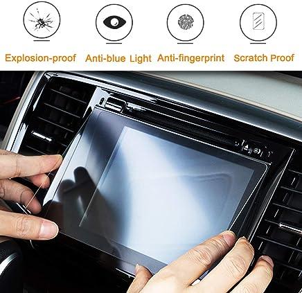 Maite 10インチモデル 汎用 カーナビ液晶保護フィルム 9H硬度 高透明 防指紋 防キズ ナビゲーション用ガラスフィルム (222mm×125mm)