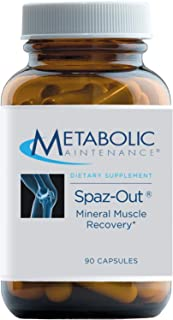 Metabolic Maintenance Spaz-Out - Electrolyte Mineral Complex for Workout, Preworkout + Muscle Recovery Supplement - Magnes...