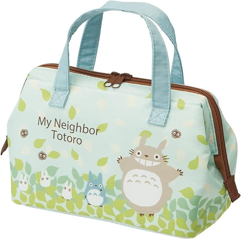 Studio Ghibli My Neighbor Totoro Gamaguchi Lunch Bag Sky Blue Series By Skater