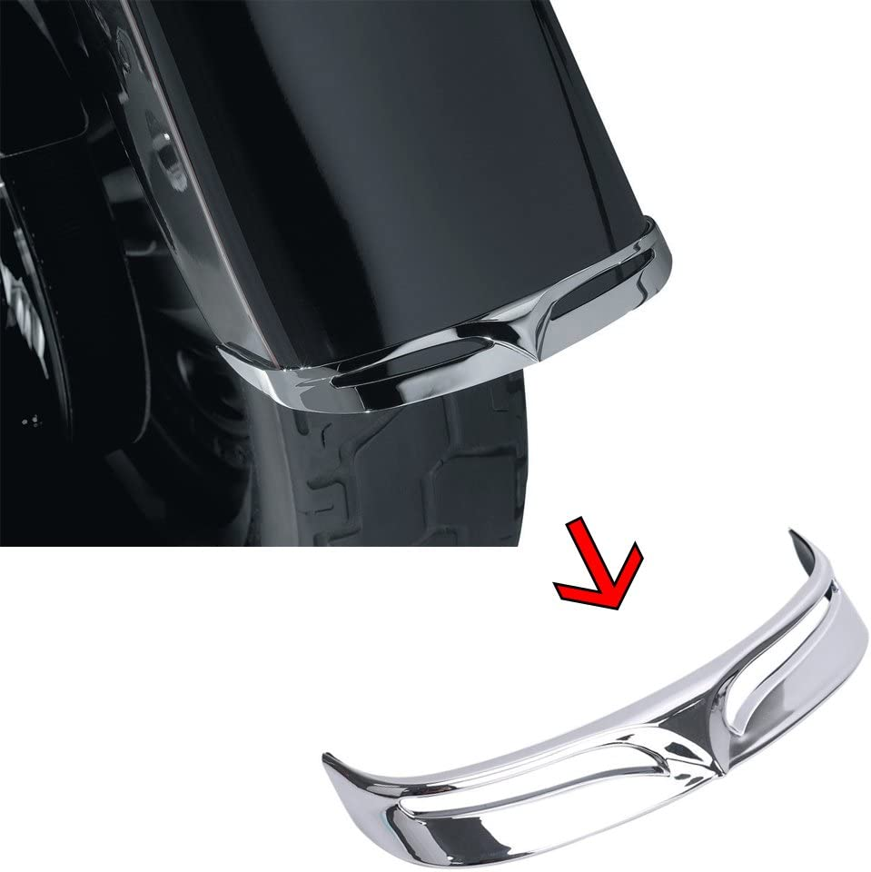 XMT-MOTO Chrome ABS Rear Fender Fashionable Tip Harle fits Max 81% OFF Trailing for Edge