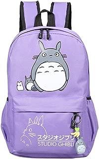 Teenager Cartoon My Neighbor Totoro Backpack Anime Canvas Casual Daypack Rucksack